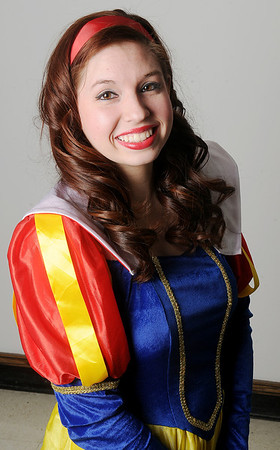 "Natalie Rapp portrays Snow White in the Gaslight Children's Theatre production of ""Snow White and the Seven Dwarfs of the Black Forest."" Performances are March 8-9 and 15-16. Saturday shows are 10 a.m. and 2 p.m. with Sunday matinees at 2 p.m. (Staff Photo by BONNIE VCULEK)"