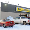 Shoppers make their purchases at the new Dollar General in Waukomis. (Staff Photo by BONNIE VCULEK)