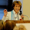 Ann Hargis, First Lady of Oklahoma State University (Staff Photo by BONNIE VCULEK)