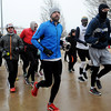 Endurance runners begin their third, 6-mile loop during the All Day Run for Autism at Groendyke Lodge Saturday, March 8, 2014. The run continues until 3 p.m. Sunday. (Staff Photo by BONNIE VCULEK)