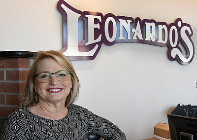 Tracy Bittle, new executive director of Leonardo's Children's Museum Wednesday March 15, 2017. (Billy Hefton / Enid News & Eagle)