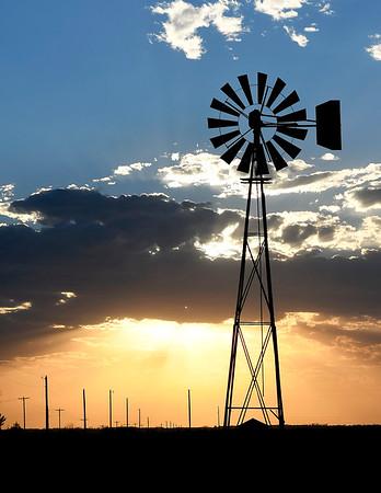 Windmill's Silhouette