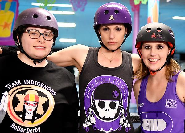 Enid Roller Girls Group Shot