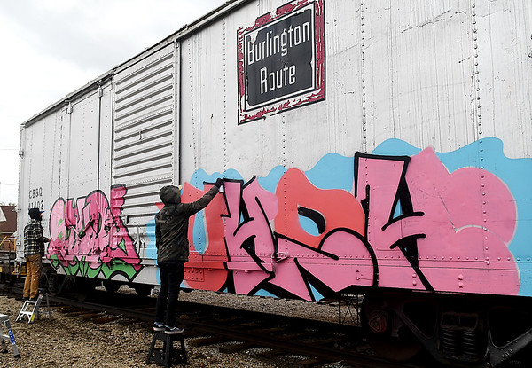 Box Car Art