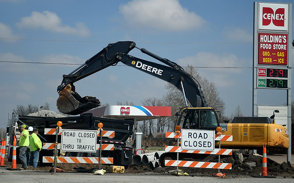 Chestnut Cleveland Intersection Construction