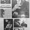 A photo page from the 1977 News & Eagle about the annual domino tournament in Waukomis. (Billy Hefton / Enid News & Eagle)