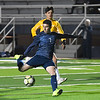 Enid's Geovany Lupercio scores against Midwest City defenders Tuesday, March 3, 2020 at D. Bruce Selby Stadium. (Billy Hefton / Enid News & Eagle)