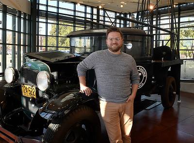 Jacob Krumwiede, Director of the Cherokee Strip Regional Heritage Center. (Billy Hefton / Enid News & Eagle