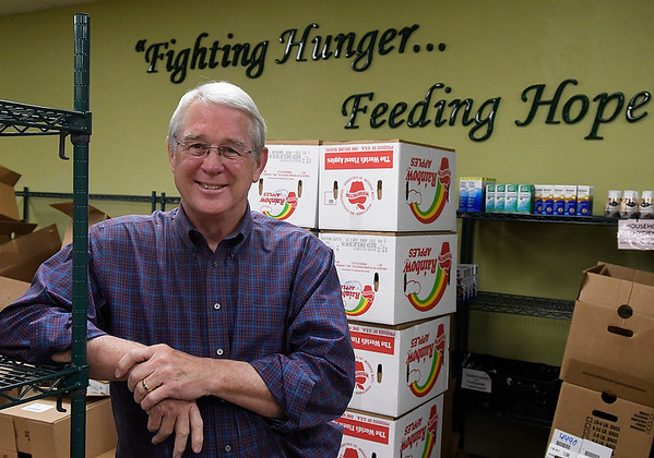 Mike Ruby, president of the Loaves & Fishes board. (Billy Hefton / Enid News & Eagle)