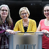 (left to right) Sally Clickner, Roxanne Pollard and Jennie Scott of the Greater Enid Parent Legislative Action Committee. (Billy Hefton / Enid News & Eagle)