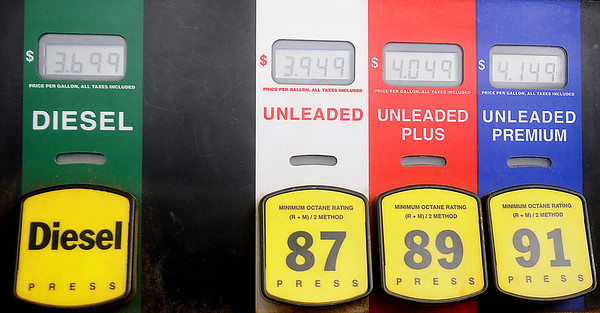 Gas prices are skyrocketing, leaving drivers wondering why? (Staff Photo by BONNIE VCULEK)