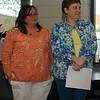 EEA President Rhonda Harlow (left) and Sherri Hendrie (Staff Photo by BONNIE VCULEK)
