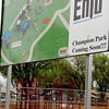 A work day is planned for Champion Park located on the southwest corner of Chestnut and 10th St. Saturday from 9 a.m. to 3 p.m. (Staff Photo by BILLY HEFTON)
