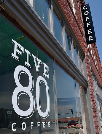 Forgotten Ministries' Five80 Coffeehouse is planned for June 21 at 122 E. Randolph. (Staff Photo by BILLY HEFTON)