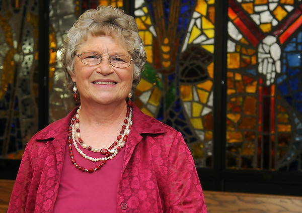 Dee Cunningham has served as at St. Gregory the Great Catholic Church for 41 years. A reception in her honor will be in June. (Staff Photo by BONNIE VCULEK)