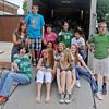 Emerson Middle School Irish Ambassadors (Staff Photo by BONNIE VCULEK)