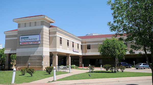 Integris Bass Baptist Health Center - Emergency Center (Staff Photo by BONNIE VCULEK)