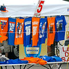 Thunder gear going cheap as merchandisers try to move stock before the end of the playoffs. (Staff Photo by BILLY HEFTON)