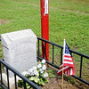 During Memorial Day weekend, individuals remember Lee Stuart, second son of H.H. & Cora K. Anderson, who died May 30, 1897 at the age of 1 year, 3 months and 16 days. The gravesite was the first one at Enid Cemetery.  (Staff Photo by BONNIE VCULEK)