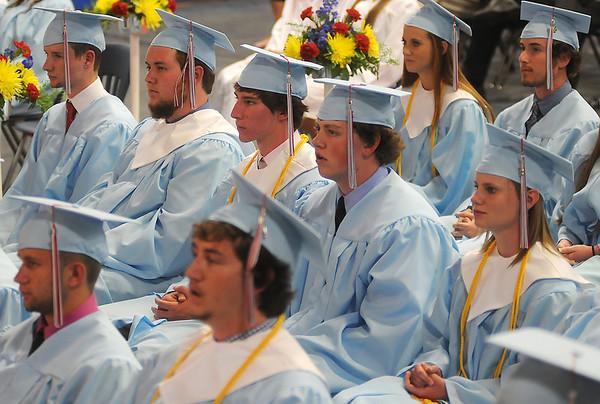 Chisholm High School 2013 graduating seniors (Staff Photo by BONNIE VCULEK)