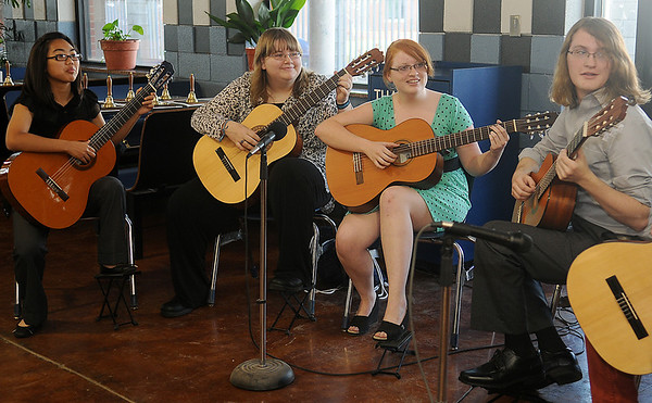 EHS Lead Guitar (Staff Photo by BONNIE VCULEK)