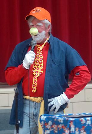 Wilson the Clown (Staff Photo by BONNIE VCULEK)