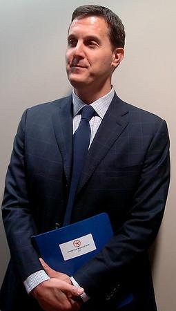 Garfield County District Attorney Mike Fields (Staff Photo by BONNIE VCULEK)