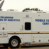 Oklahoma Bureau of Narcotics Mobile Command Center (Staff Photo by BONNIE VCULEK)