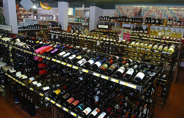 """Buck's Wine & Spirits was selected as the Readers' Choice for """"Best Wine Selection."""" (Staff Photo by BONNIE VCULEK)"""