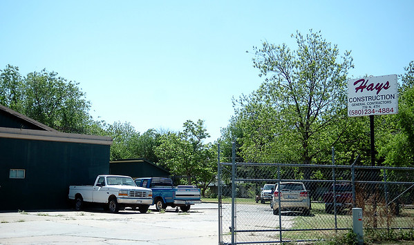 Recycling in Enid on S. 9th will relocate its shredding facility to 719 N. 4th, formerly Hays Construction. (Staff Photo by BONNIE VCULEK)