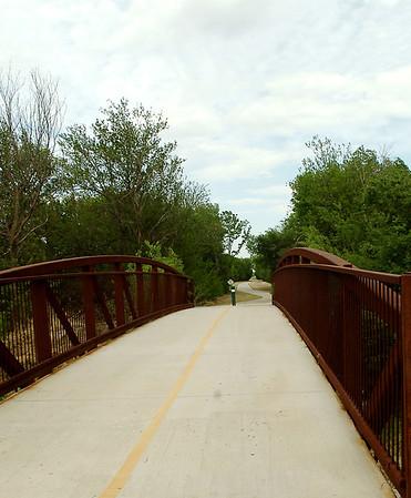 Enid Trails near Oakwood Road (Staff Photo by BONNIE VCULEK)