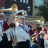 The Pioneer High School Band marches during the 82nd annual Tri-State Parade Friday, May 2, 2014. (Staff Photo by BONNIE VCULEK)