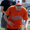 Dakotah Tollet scores for the Orioles during Miracle League games at AMBUCS ABC Park Saturday, May 31, 2014. (Staff Photo by BONNIE VCULEK)