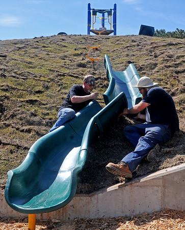 Meadowlake Park Giant Slide
