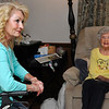 Nikki Marney (left) and her mother, Erma Marney, during an interview Friday May 6, 2016 at their home in Enid. (Billy Hefton / Enid News & Eagle)