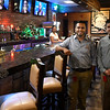 Jose Miranda, manager, (right) and Noel Melendez, owner, of El Patio Mexican Grille & Cantina. (Billy Hefton / Enid News & Eagle)