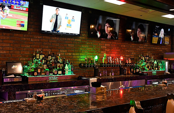 Bar area at El Patio Mexican Grille & Cantina. (Billy Hefton / Enid News & Eagle)