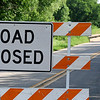 South Leona Mitchell Road Closed