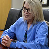 Sonya Bowen, RN, ICU charge nurse at Integris Bass Baptist Hospital, during an interview Tuesday, May 5, 2020. (Billy Hefton / Enid News & Eagle)