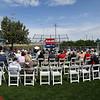 The Veterans Memorial Bridge Dedication Friday, May 28, 2021 at AMBUCS Park. (Billy Hefton / Enid News & Eagle)