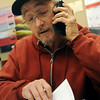 Rodger Griffin takes a service call at John Quigley Electric Tuesday, Nov. 26, 2013. Griffin purchased the small business six months ago and offers health insurance to his employees. (Staff Photo by BONNIE VCULEK)