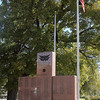 The Veterans of Foreign Wars Memorial at Government Springs Park, sponsored by the Veterans of Foreign Wars Lodge No. 2270 in Enid, honors all Garfield County residents who were wounded or killed in the line of duty since World War I. (Staff Photo by BONNIE VCULEK)