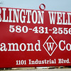 Burlington Welding, LLC in Cherokee, Okla. just rolled out the 1,000th Diamond W Corral. The portable unit allows farmers and ranchers to set up the round corral on various types of terrain providing both strength and mobility needed for uneven ground. Burlington Welding, LLC, 1101 Industrial Blvd in Cherokee, Okla., just built the 1,000th Diamond W Corral. (Staff Photo by BONNIE VCULEK)