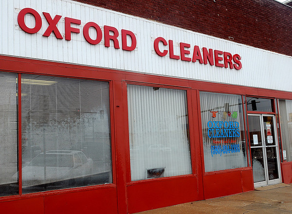 After 75 years of operation in Enid, Oxford Cleaners will close the doors Nov. 29, 2013. (Staff Photo by BONNIE VCULEK)