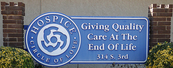 Hospice Circle of Love (Staff Photo by BONNIE VCULEK)