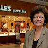 Dixie McKinney celebrates her 40th year as a Zales Jewelers' employee. The last several years she has been assisting Enid area residents. (Staff Photo by BONNIE VCULEK)