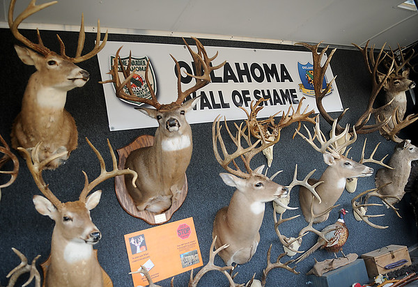 Oklahoma Wall of Shame (Staff Photo by BONNIE VCULEK)