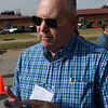 Jim Crumbliss during an interview following a ceremony honoring the 3rd Flying Training Squadron on it's 100th anniversary Friday November 4, 2016 at Vance Air Force Base. (Billy Hefton / Enid News & Eagle)