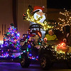 A float takes part in the Light Up the Plains parade Friday November 25, 2016. (Billy Hefton / Enid News & Eagle)