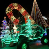 A float from the Light Up the Plains parade sits in the Garfield County Courthouse parking lot Friday November 25, 2016. (Billy Hefton / Enid News & Eagle)